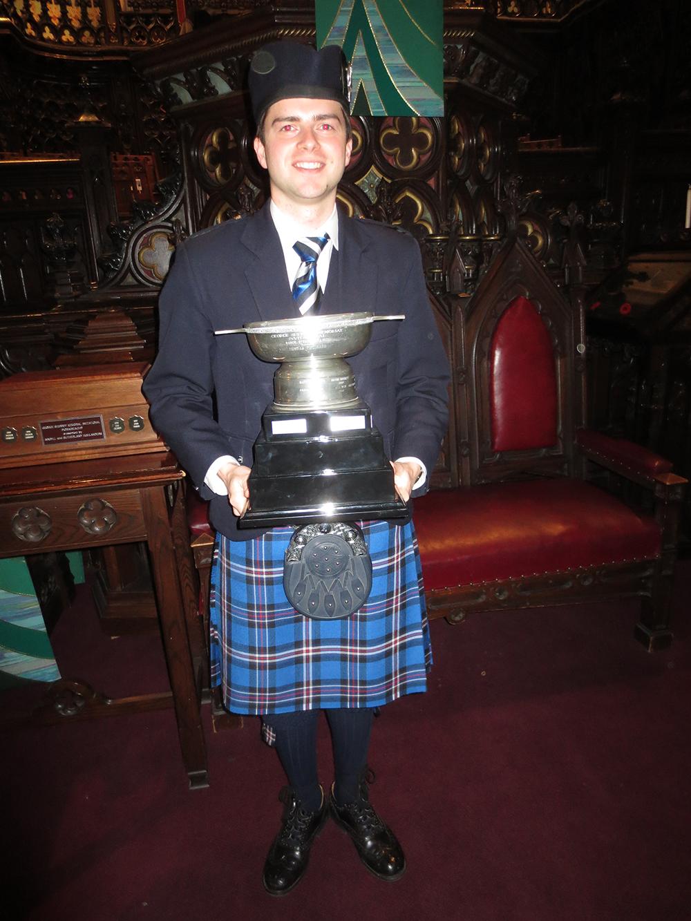 2014 MSR Winner Kevin MacLean.